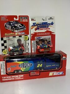 1995 racing champions jeff gordon 1/64th Hauler, Car And Truck X3