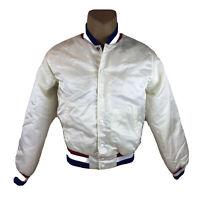 Vintage 1984 USA Amateur Baseball Team GE Swingster Satin Jacket XL Olympic