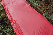 Plastic Mulch Ground Cover Weed Barrier Red 1.0 Embossed mil 4 ft x 250 ft