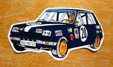 Renault 5 Turbo Elf púrpura Carrera Motorsport ETIQUETA / ETIQUETA