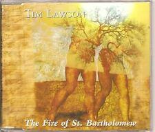 TIM LAWSON BAND The Fire Of St Bartholomew EU CD SINGLE