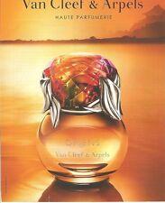 PUBLICITE 2000 VAN CLEEF & ARPELS Oriens