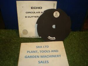 ECHO BRUSH CUTTER TRIMMER 8TOOTH BLADE FIT STIHL  BUSH WEED 25.4mm DIA CENTRE