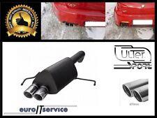 ULTER SPORT SILENCIEUX POT D'ECHAPPEMENT ALFA ROMEO 147 GTA 2003-2010! TIP 2x70