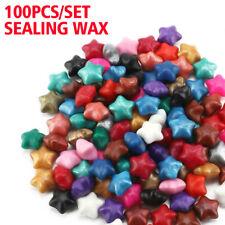 100x/Set Sealing Wax Beads For Retro Seal Stamp Wedding Envelope Invitation Card