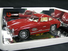 Bburago Mercedes-Benz 300 SL 1:18 Dark Red (JS)