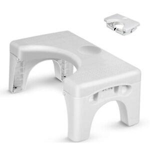 Foldable Footstool Toilet Step Stool Chair Non-slip Step For Home Bathroom AU