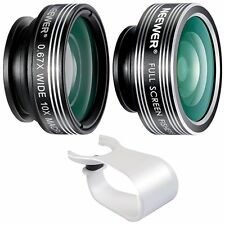 Neewer 3-in-1 Clip-on Lens Kit for Android Tablets, iPad, iPhone, Samsung Galaxy