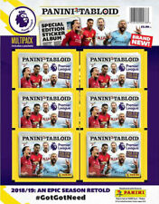 Premier League Tabloid Special Edition Panini Sticker Collection ~ Multipack