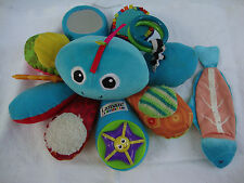 Tomy Lamaze LC27206A Baby Toy Octivity Time Octopus Friendly Face Bright Colors