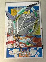 BATMAN FAMILY #16 original art color guide MAN-BAT BATTLES JASON BARD, 1978