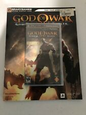 God of War: Ghost of Sparta PSP Black Label + Strategy Guide - New