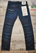 Replay Long Low Rise Classic Fit, Straight Jeans for Men