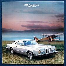 Prospekt brochure 1979 Ford Thunderbird   (USA)