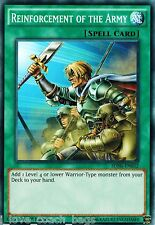 Reinforcement of the Army - SDHS-EN032 1st X5 MINT YU-GI-OH!