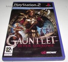 Gauntlet Seven Sorrows PS2 PAL *Complete*