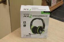 Turtle Beach Ear Force XL1 Black/Green Headband Headsets for XBOX 360 NIP SEALED