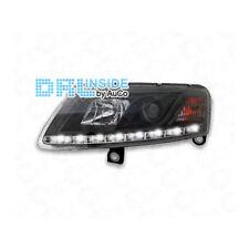 Scheinwerfer Set LED Tagfahrlicht für Audi A6 4F Xenon schwarz R87