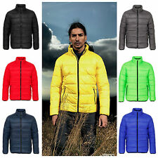Mens Down Feel Puffer Quilted Padded Bubble Coat Jacket XS – 2XL 6 Colours