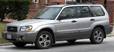 SUBARU FORESTER SG9 EARLY EJ25 ENGINE