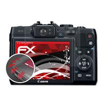 atFoliX 3x Antichoque Película Protectora para Canon PowerShot G16 mate&flexibel
