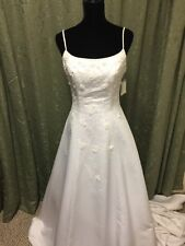 NWT! Christian Michele Wedding Dress Bridal Gown White Size 8 Unaltered