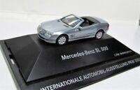 Herpa 1:87 Mercedes Benz SL 500 Klasse R230 OVP perlmuttsilbermetallic IAA 2001