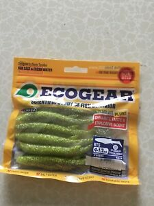 Cod Pollock Bass Soft Jelly Ecogear Shads Fresh And Saltwater Lures