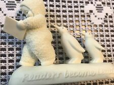 """2003 Snowbabies """"Readers Become Leaders"""" Collectibles"""
