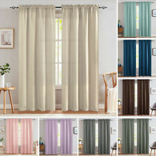 Blackout Window Curtains for Bedroom Living Room Thermal Insulated Drapes 2Panel