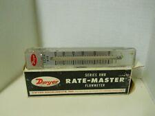 Dwyer Rate-Master Flowmeter Series RMB 57 70 PSI 60 600 SCFH AIR w/Box