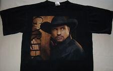 Garth Brooks Tour Shirt Size Med 2007 2008 T-Shirt Tee T Shirt Black
