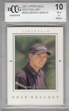 2001 Upper Deck Golf Gallery SERGIO GARCIA rookie card MINT bgs BCCG 10