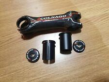 COLNAGO ST-01 ALUMINIUM FORGED CARBON WRAPPED STEM NEW NEVER FITTED 130mm 1-1/8