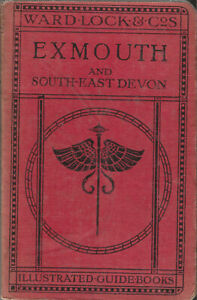 WARD LOCK RED GUIDE - EXMOUTH & SOUTH-EAST DEVON - 1924/25 - 8th edition revised