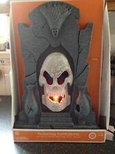 Haunted Flickering Light Up Tombstone Animated Screaming Halloween Prop New Box