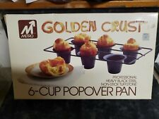 New listing 6-cup Popover Pan 1984