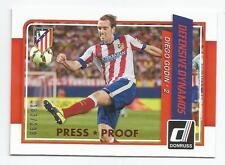2015 Donruss Soccer Diego Godin Defensive Dynamos Bronze Press Proof /299