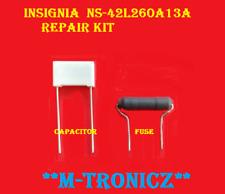 INSIGNIA  NS-42L260A13A    PWTVCQAAAXA7      BLOWN FUSE    REPAIR KIT