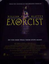 EXORCIST III 3 movie poster WILLIAM PETER BLATTY  GEORGE C SCOTT original 1990