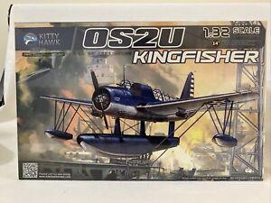 1/32 Scale Kitty Hawk OS2U KINGFISHER MODEL KIT OOP RARE NEW SEALED!
