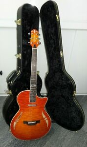 CRAFTER SA-QMOS Slimline Acoustic-Electric Guitar with fitted Crafter Hard Case