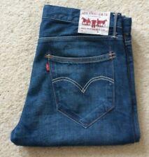 Mens Levis 951 blue straight leg denim mid rise jeans W 36 L 30