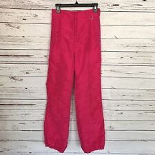 Nils Skiwear Women's Ski Snow Insulated Pants Pink Size 10
