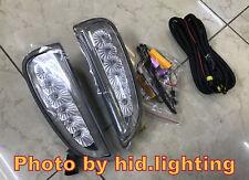 Clear LED Daytime Running Lights Turn Signal Lamp DRL 2007-2010 Porsche Cayenne