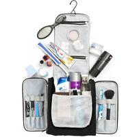 Large Travel Toiletry Bag Heavy Duty Waterproof Women's Makeup Men's Shaving Kit