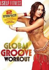 Global Groove Workout: Cardio Bellydance/Latin Rhythms (DVD, 2014) NEW
