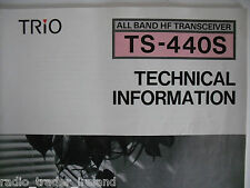 KENWOOD TS-440S (GENUINE TECHNICAL INFORMATION ONLY).......RADIO_TRADER_IRELAND.