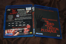 The Bird with the Crystal Plumage - OOP Region Free Blue Underground - Argento