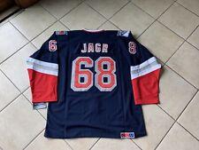 Vintage Jaromir Jagr #68 New York Rangers NHL Hockey Jersey Liberty Blue